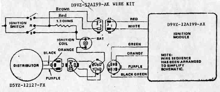 Ford Duraspark Wiring Diagram