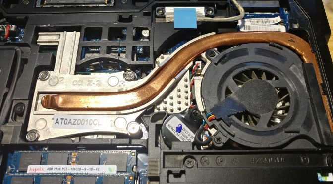 Dell Latitude E6410 with GPU overheating – Solved!